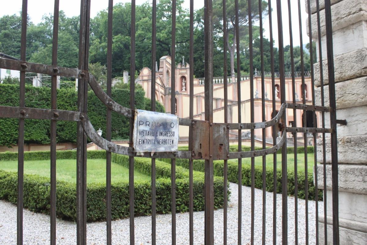 Giardino di Palazzo Bettoni Cazzago in Bogliaco di Gargnano